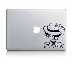 Luffy One Piece Apple Macbook Decal Vinyl Sticker Apple Mac
