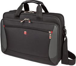 "Wenger Luggage Mainframe 15.6"" Laptop Brief Bag, Black, One"