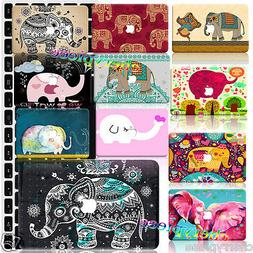 For Mac Macbook 11/12/13/15 inch Laptop Shell ELEPHANT Paint