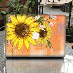 GTNINE MacBook Sticker Ink-paint Sunflower Full Set MacBook