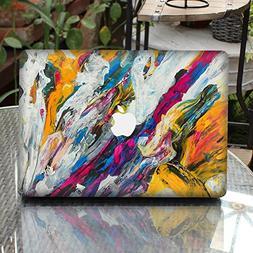 GTNINE MacBook Sticker Oil Paint Pattern Full Set MacBook Vi