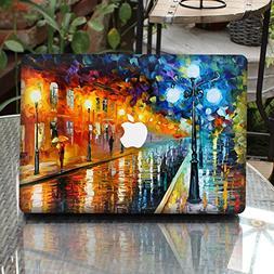 GTNINE MacBook Sticker Raining Street Full Set MacBook Vinyl