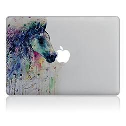 GTNINE MacBook Stickers Crying Horse Sticker MacBook Decals