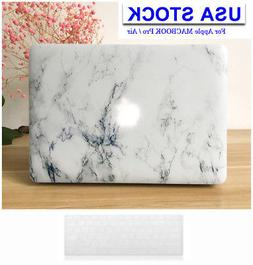 Marble pattern Laptop case cover shell For Apple Macbook Pro