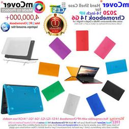 """mCover Hard Case for 2020 14"""" HP Chromebook 14 G6 series Lap"""