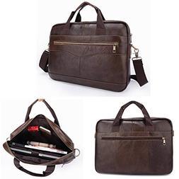 Yongse Men Briefcases Handbag Document Business Office Lapto