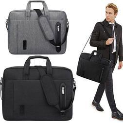 Men's 17.3''Laptop Briefcase Case Messenger Shoulder Bag Bus