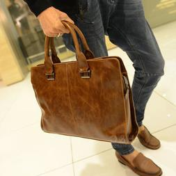 men s briefcase portfolio business case pu