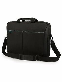 Mens Black Laptop Bag 15.6 Inch - Mens Computer Shoulder Bag