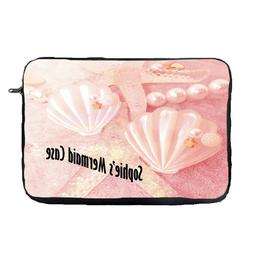 mermaid personalised laptop case sleeve bag tablet