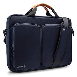 "tomtoc Travel Messenger Bag 15.6"" with Protective Laptop C"