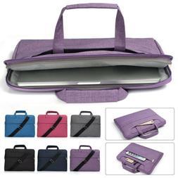 Messenger Shoulder Bag Laptop Sleeve Case For Macbook 11/12/