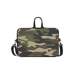 military camoflage laptop sleeve case