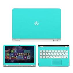 Mint Green skin decal wrap skin Case for HP ENVY x360 m6 ser
