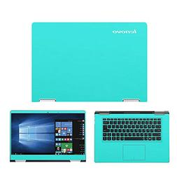Mint Green skin decal wrap skin Case for Lenovo Yoga 710 15.