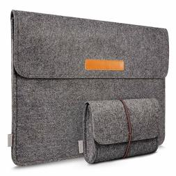 "Inateck MP1300D 13-13.3"" Inch MacBook Pro Case Felt Laptop S"