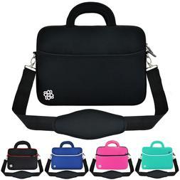 """Neoprene Carrying Case Sleeve Messenger Bag for 15.6"""" Acer D"""