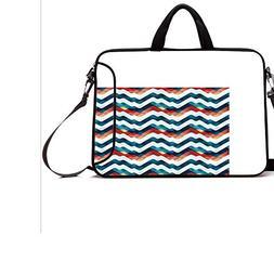 """13"""" Neoprene Laptop Bag Sleeve with Handle,Adjustable Should"""