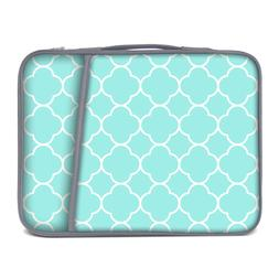 Neoprene Laptop Briefcase Case Bag w Side Pocket Fits up to