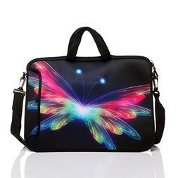 15-Inch to 15.6-Inch Neoprene Laptop Shoulder Messenger Bag