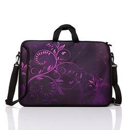 17-Inch to 17.3-Inch Neoprene Laptop Shoulder Messenger Bag