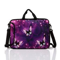 14-Inch Neoprene Laptop Shoulder Messenger Bag Case Sleeve f