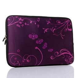 15.6-Inch Neoprene Laptop Sleeve Case with hidden handle For