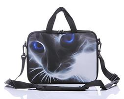 11-Inch to 12-Inch Neoprene Laptop Sleeve Case Bag with shou