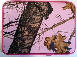 "Mossy Oak 15"" 15.6"" Neoprene Pink Laptop Sleeve Case Bag - N"