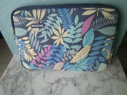 new floral print padded laptop tablet protective