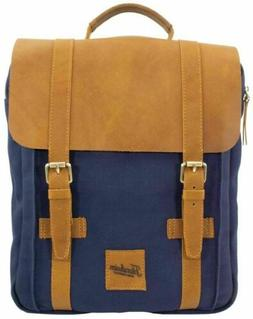 New genuine Leather and Fabric Diego Brief and Laptop Case