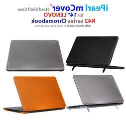"""NEW iPearl mCover® Hard Shell Case for 14"""" Lenovo N42 Chrom"""