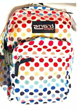 """NEW Trans by JanSport 17"""" SuperMax Backpack w/ 15"""" Laptop Sl"""