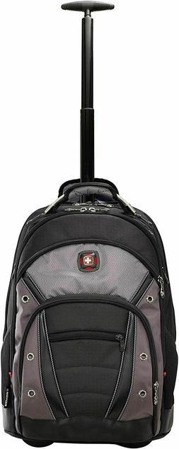 "NEW Wenger Synergy Wheeled Laptop Backpack 16""  SWISSGEAR"