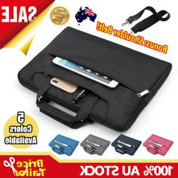 Notebook Laptop Sleeve Case Shoulder Carry Bag Pouch Cover 1