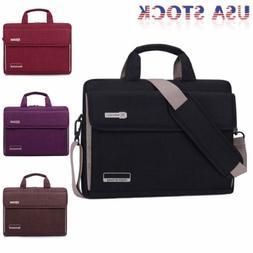 Notebook Messenger Case Sleeve Handbag Shoulder Bag For 15.6
