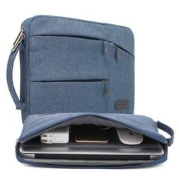 kayond Nylon Fabric 13.3 Inch Laptop Sleeve-Gray, 13-13.3 in