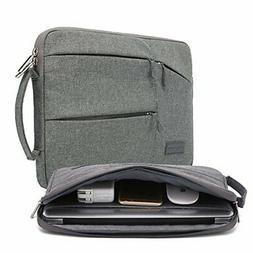 kayond Nylon Fabric 15.6 Inch Laptop Sleeve-Gray