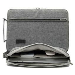 KAYOND New Nylon Fabric 13.3 Inch Laptop Sleeve case-Black