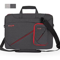 Ropch 17 17.3 Inch Laptop Bag, Nylon with Shoulder Strap and