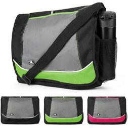 nylon school shoulder bag laptop case
