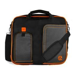 Orange Crossbody Messenger Shoulder Business/College Compati