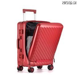 KLQDZMS PC Travel Suitcase <font><b>Rolling</b></font> Lugga