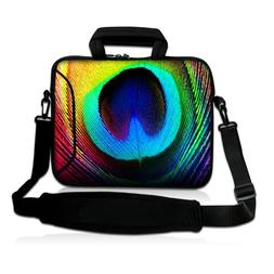 """Peacock Feathers 9.7"""" 10"""" 10.2"""" inch Laptop Netbook Tablet S"""