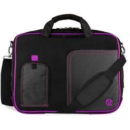 VanGoddy Pindar Purple Trim Laptop Bag for Lenovo Yoga 710 7