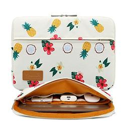 pineapple pattern protective canvas laptop