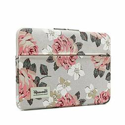 Canvaslife Pink Rose Laptop Sleeve 15 Inch 15 Case and 15.6