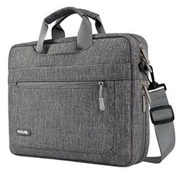 MOSISO Messenger Laptop Shoulder Bag Compatible 15-15.6 Inch
