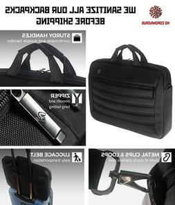 Premium Laptop / Tablet Bag 11''-15.6 '' Black Case for Man