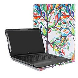 "Alapmk Protective Case Cover For 15.6"" HP Notebook 15 15-bsX"